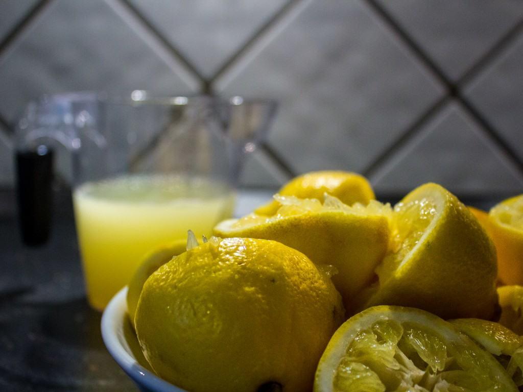 Citronsorbet