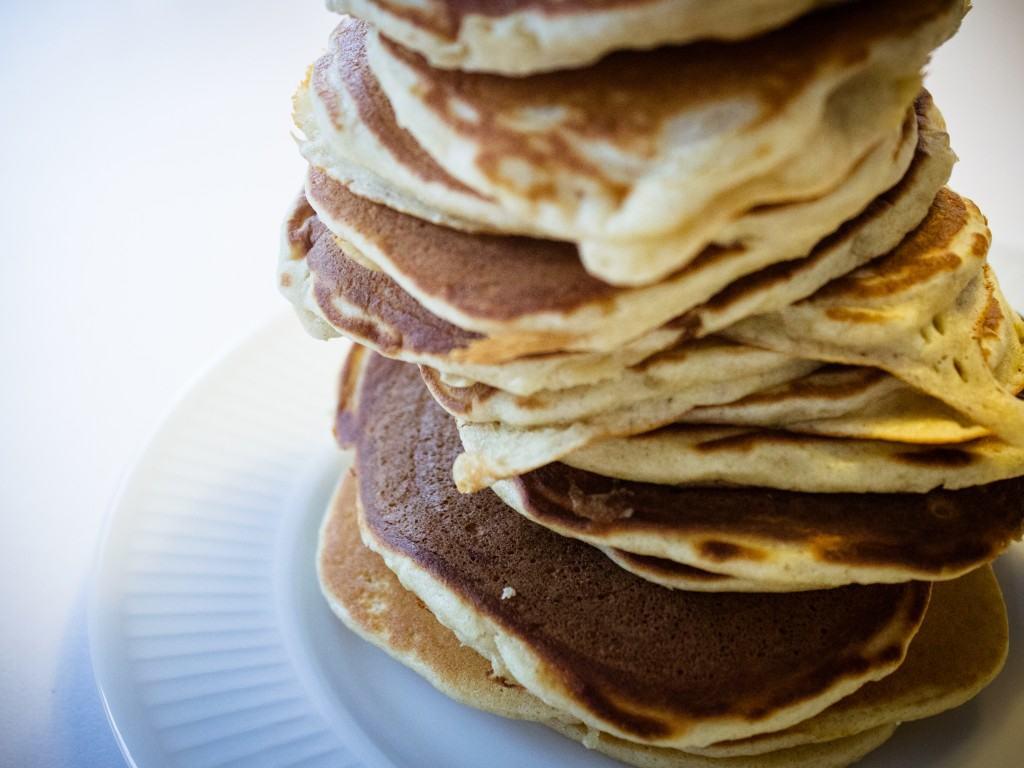 Lette og luftige amerikanske pandekager