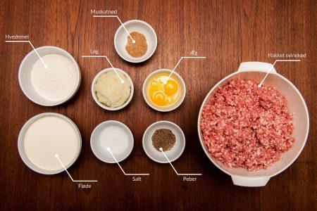 Ingredienser til grundfars