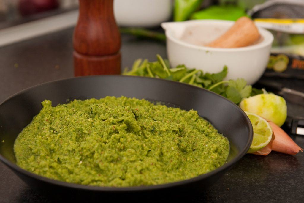 Grøn karrypasta