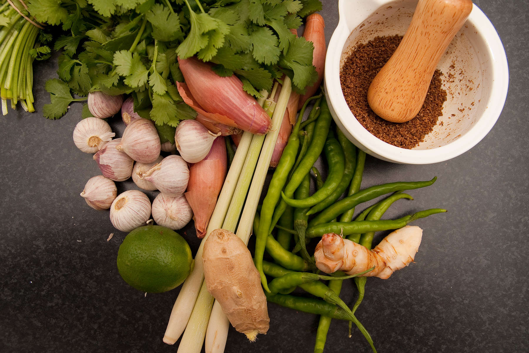 Friske ingredienser