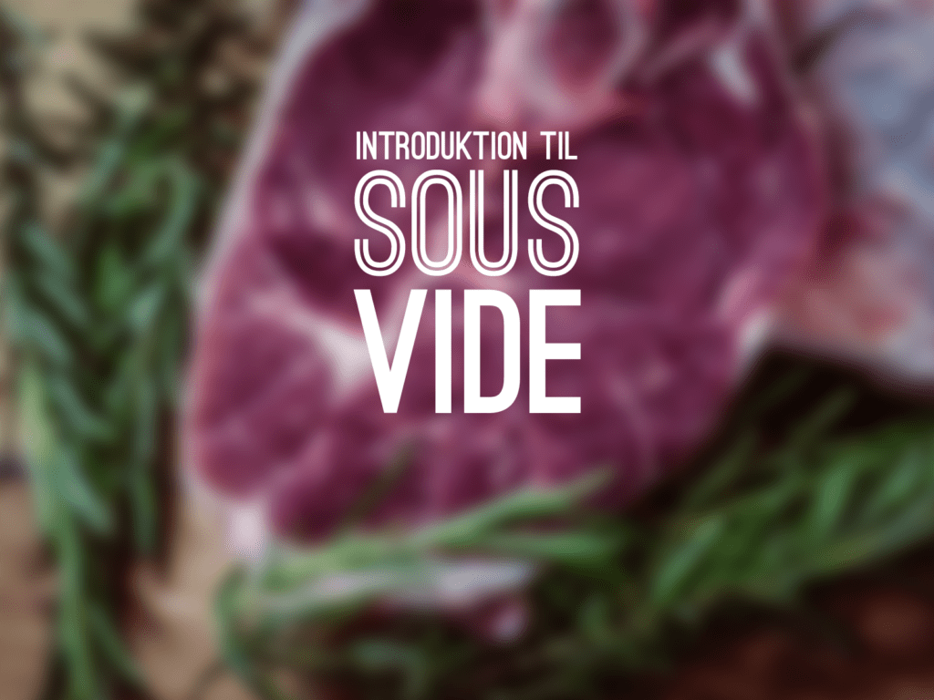 Introduktion til sous vide